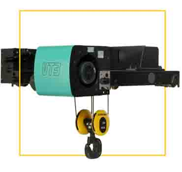 Electric wire rope hoist - Verlinde