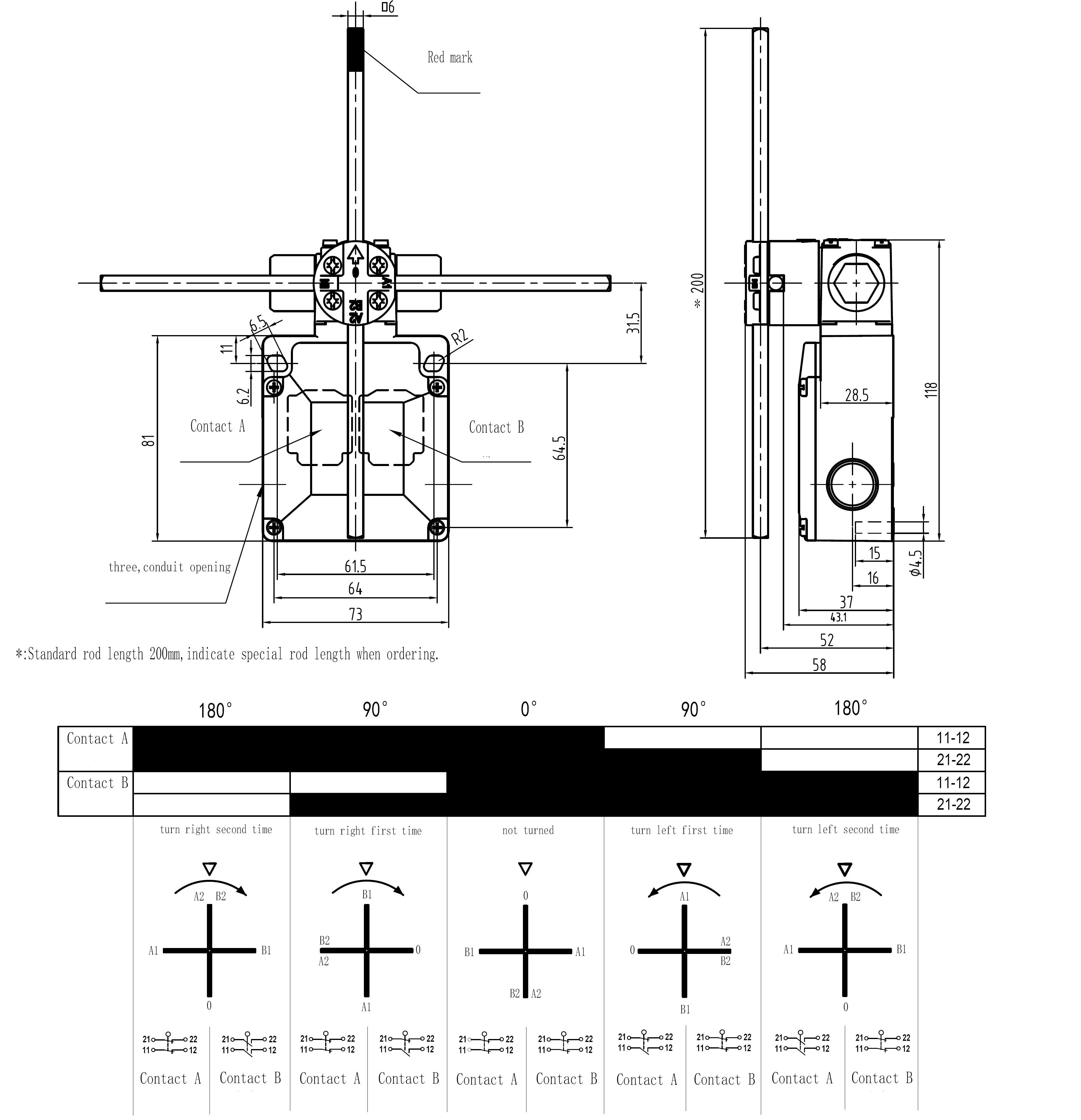 لوحة التحكم بالونش واتصال المكونات الكهربائية
